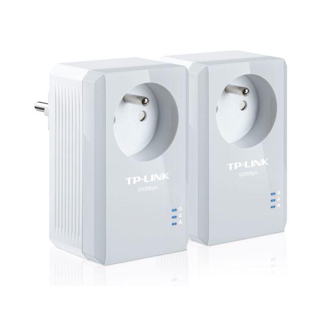 TP-LINK - Pack de 2 Mini Adaptateurs CPL 500 Mbps TL-PA4015PKIT