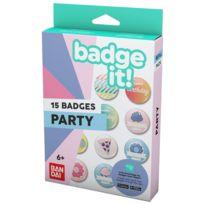 BADGE IT! - Recharge Party pour machine à badges - 35412