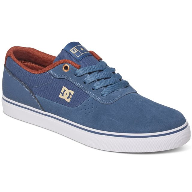 cea5a3d9964e5 Dc - Shoes Switch S Chaussure Homme - Taille 41 - Bleu - pas cher ...
