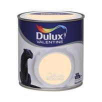 Dulux Valentine - Peinture crème de couleur - 0.5 L - sorbet pêche
