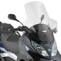 Givi - Bulle incolore +12cm D5601ST, Piaggio Mp3 300/400/500 Touring & Business