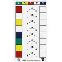 Vinco Educational - lot de 6x5 fiches d'excercices - niveau 2