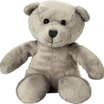 Mbw - Peluche nounours ours - 60326 gris clair