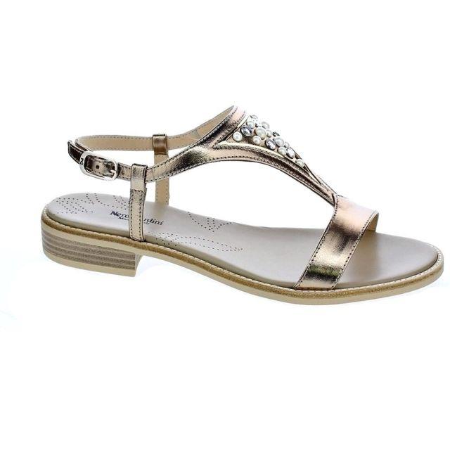 6a6cc4f8f74982 Nero Giardini - Chaussures Femme Sandales modele 5802 Or - 40 - pas cher  Achat / Vente Sandales et tongs femme - RueDuCommerce