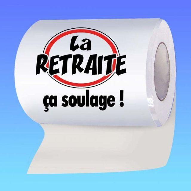 Kas Design Papier Toilette Bonne Retraite