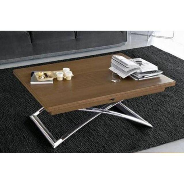 table basse bois relevable. Black Bedroom Furniture Sets. Home Design Ideas