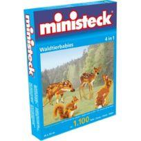Ministeck - 31329 - ForÊT Des BÉBÉS Animaux 4 En 1, Circa 1100 Parties