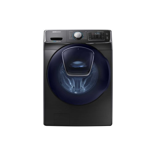 samsung lave linge wf16j6500ev noir achat lave linge hublot a. Black Bedroom Furniture Sets. Home Design Ideas