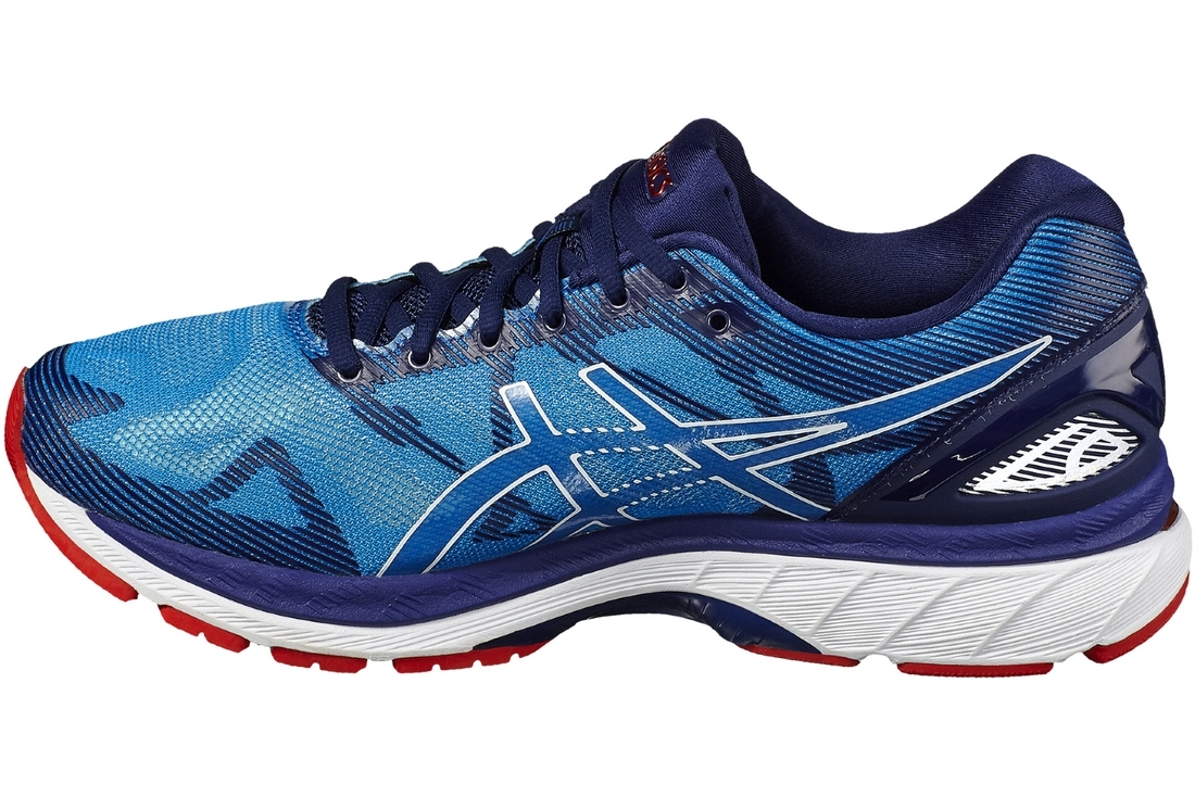 Gel Nimbus 19 T700N-4301 ????????? Baskets Bleu