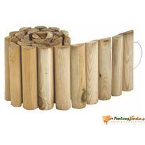 Jardipolys - Bordure de jardin en bois à derouler First