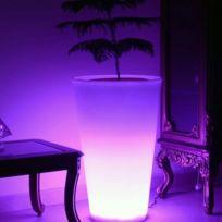Arum Lighting - Pot de fleur rechargeable 70cm
