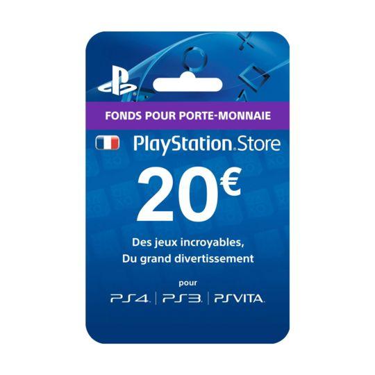 Carrefour Carte Abonnement Ps4.Playstation Network Live Card 20 A Prix Carrefour