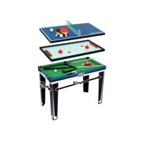 Cdts - Table De Jeux 3 En 1