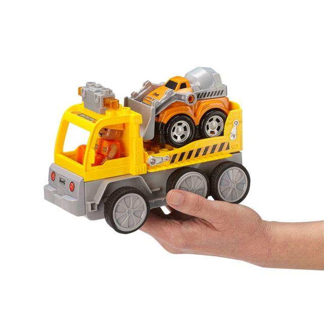 REVELL RC-Junior Camion de Transport REVELL CONTROL JUNIOR : Une gamme RC pour les plus petits. A partir de 3 ans. Quelques accessoires à monter rapidement. Ludique (pas de batteries) et simple d'utilisation