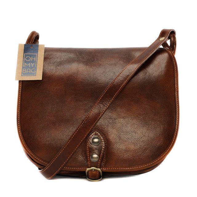7218b99b57 Oh My Bag - Sac à main en cuir lisse Verlaine - pas cher Achat ...