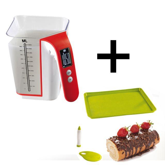 Domoclip Set Pâtisserie Gâteau Balance électronique