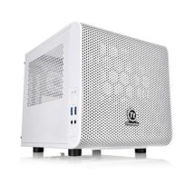 THERMALTAKE - Boitier PC Mini-ITX Core V1 Snow Edition