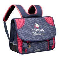 CHIPIE - SCOTT - Cartable - L 41 cm - Bleu et rose - 400081812