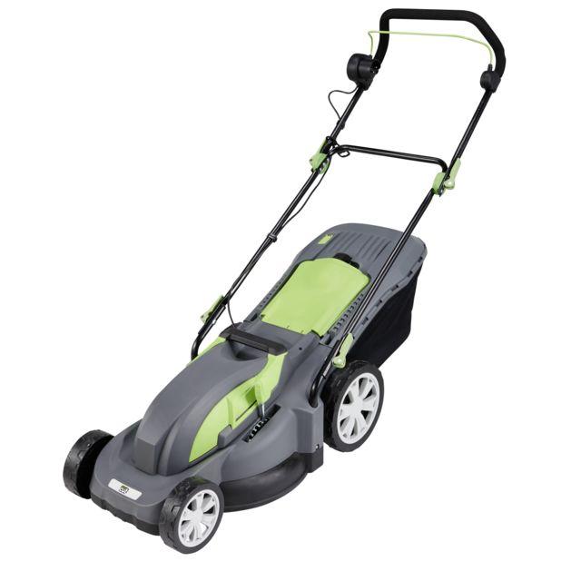 bf43842bdfd97b GREEN CUT - Tondeuse electrique - 1800 W - pas cher Achat   Vente Tondeuses  électriques - RueDuCommerce