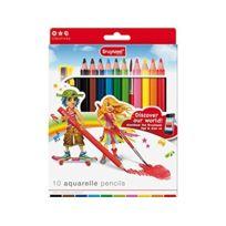 Bruynzeel - 1405026 - Crayon De Couleur - Aquarelles - 10 PiÈCES