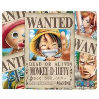 One Piece - Tapis de souris Wanted Pirates