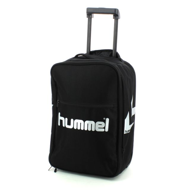 hummel valise sac roulette authentic cabine noir pas cher achat vente sacs de sport. Black Bedroom Furniture Sets. Home Design Ideas