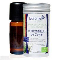 Ladrome - Huile Essentielle De Citronelle Bio De Ceylan