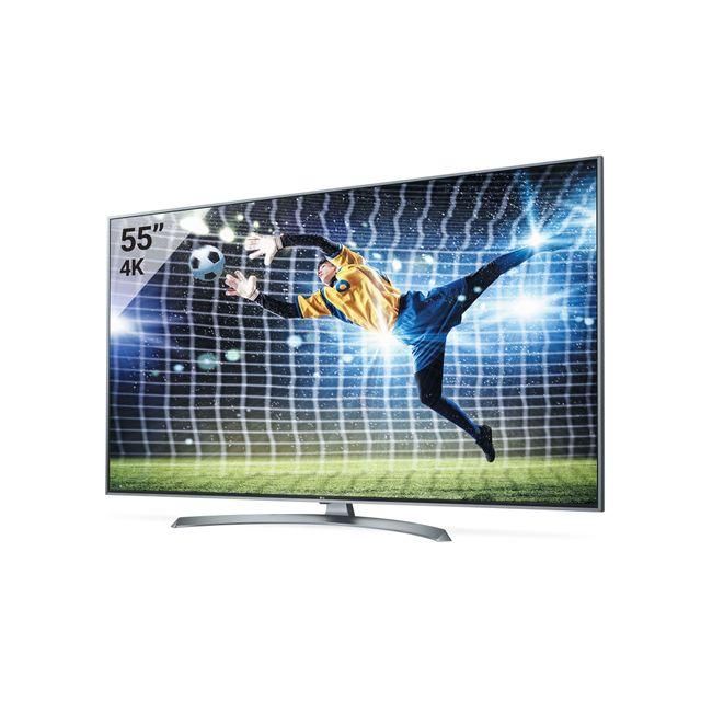 f866196a3b6 LG TV LED – 55UJ750V pas cher - Achat   Vente TV LED de 50   à 55 ...