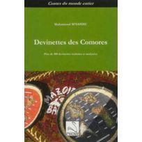 Editions Du Cygne - Devinettes des comores : plus de 400 devinettes traduites et analysees