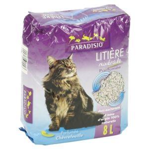 Paradisio liti re min rale parfum e ch vrefeuille pour - Litiere pas cher pour chat ...