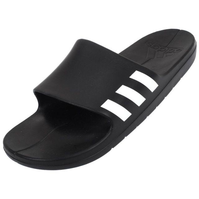 unique design high quality buying new Adidas - Claquettes mules Aqualette noir blc Noir 76427 ...