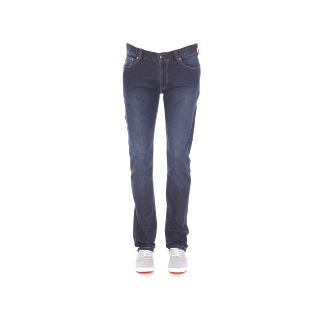 Foncé Élastique En Confort Coton Jean Bleu Coupe Droite Pas Mcs wxqIY84g