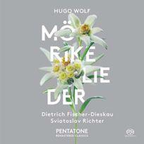 Pentatone - Hugo Wolf - Lieder nach gedichten von Eduard Morike Boitier cristal