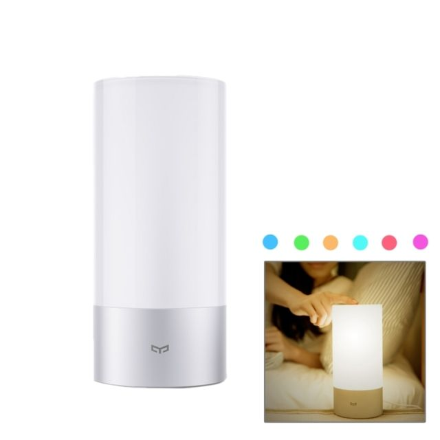 Wewoo Veilleuse Blanc Pour Xiaomi Yeelight Interieur Lampe De