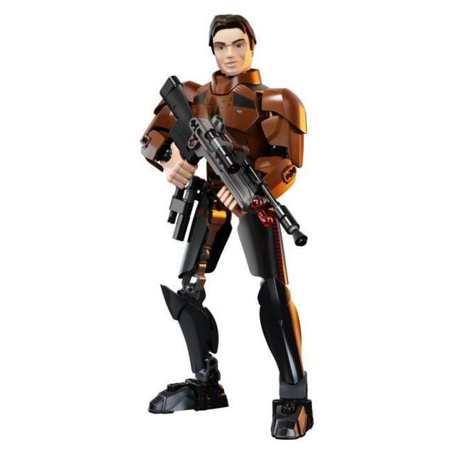 JEU D'ASSEMBLAGE - JEU DE CONSTRUCTION - JEU DE MANIPULATION Star Wars™ 75535 Han Solo