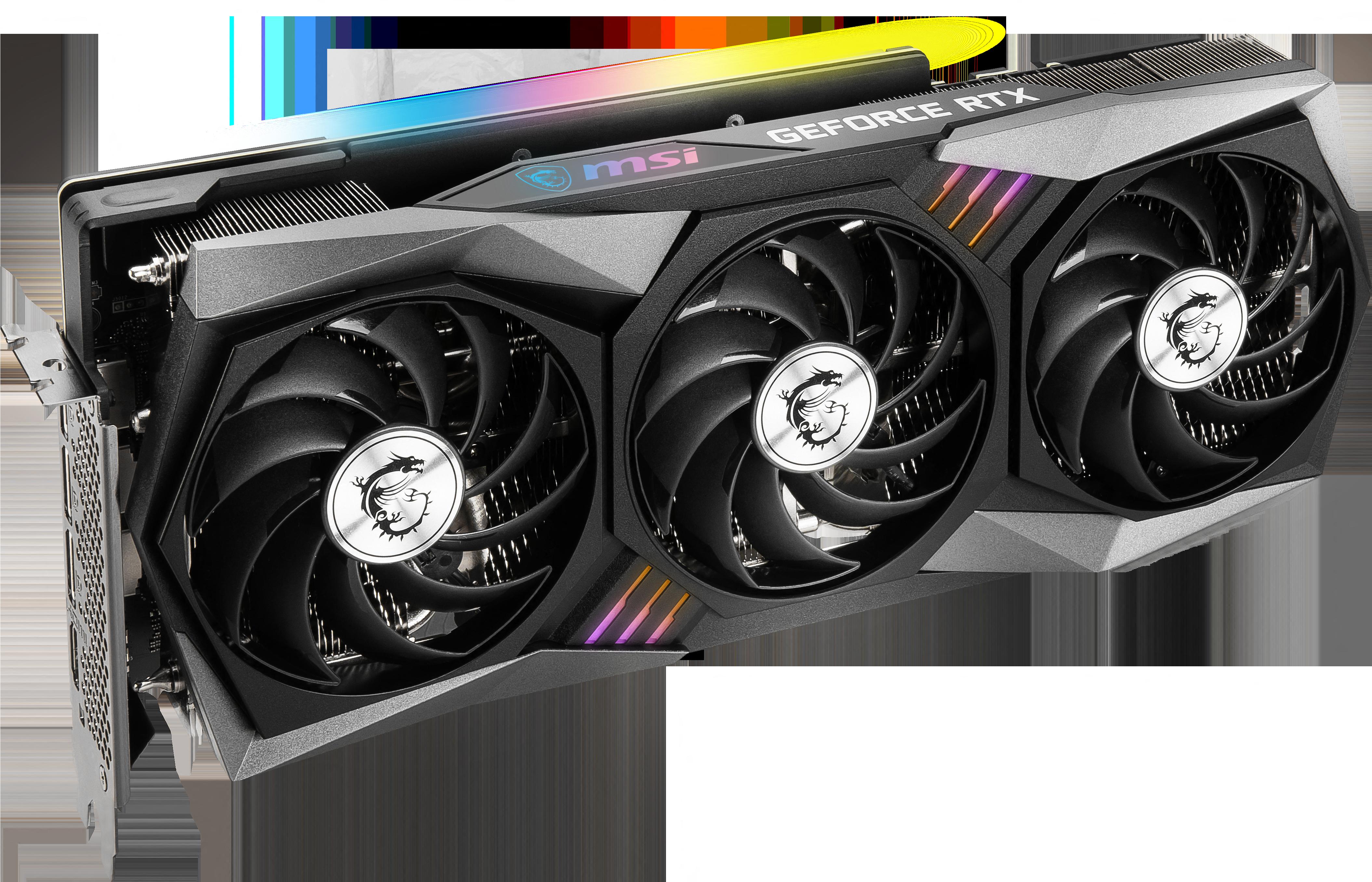 Carte graphique GeForce RTX 3060 Ti GAMING X TRIO