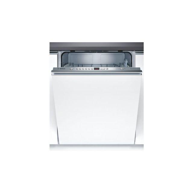 Bosch Lave-vaisselle SilencePlus - SMV46AX00E - Blanc