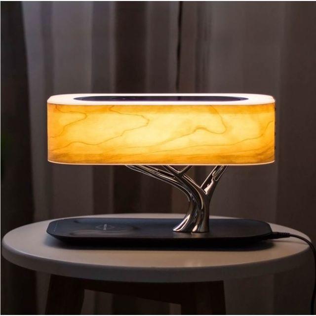 marque generique 3 en 1 station de charge induction lampe music smart bonsai qi 4smarts. Black Bedroom Furniture Sets. Home Design Ideas