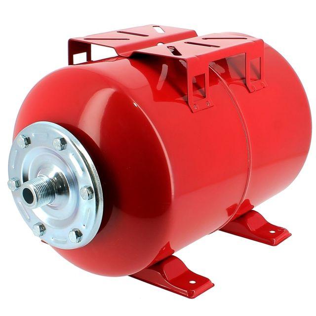GT MARKET Réservoir pression à vessie horizontal - 100 litres
