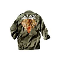 Magic custom - Sauvage - Veste militaire Angry Tiger