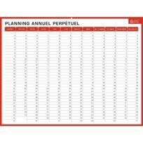 Bouchut Grandremy - Planning rigide hebdomadaire et annuel 32x42