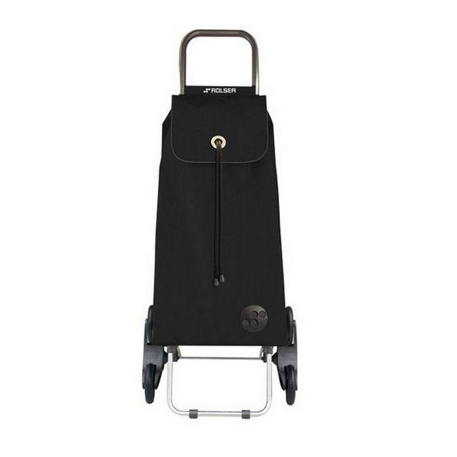 rolser poussette de march 6 roues 43l noir. Black Bedroom Furniture Sets. Home Design Ideas