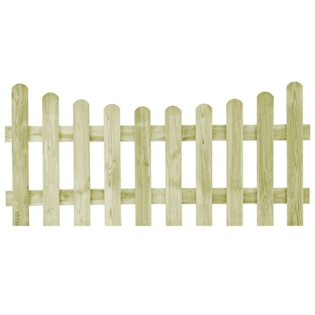 Portillon de jardin Pin imprégné Fsc 170 x 80 cm - Quincaillerie - Clôtures  et barrières - Portillons | Vert | Vert