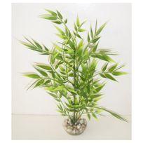 Labeo - Décoration Plante en Plastique Arbre Vert