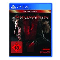 Konami - Metal Gear Solid V : The Phantom Pain - ÉDITION Day One IMPORT Allemand, JEU Ps4 Jeux Video Ps4