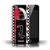 Stuff4 - Coque de / Coque/Etui/Housse pour Apple iPod Touch 5 5th Generation, / Singapour Design / F1 Piste Drapeau Collection