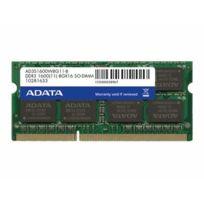 Adata - Premier Series - Ddr3 - 4 Go - So Dimm 204 broches - 1600 Mhz Pc3-12800 - Cl11 - 1.5 V - mémoire sans tampon - Non Ecc
