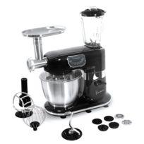 "Thomson - Thfp06719B - Robot pâtissier multifonction ""CREA Chef +"" - bol inox 5 litres - blender 1,5 litres - puissance 1000 watts"