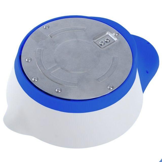 Yonis - Balance de cuisine électronique bol récipient culinaire 1g à 5kg bleu