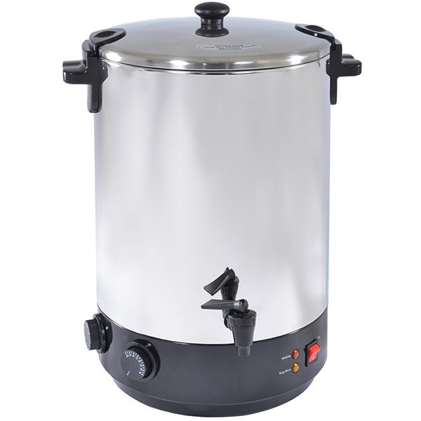 stérilisateur électrique inox avec robinet et minuteur 28l 2500w - zj-280td
